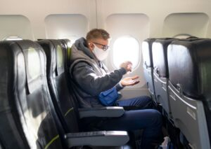 Study claims odds of catching COVID-19 on a plane are very small