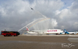 Qatar begins 4X weekly service to Seattle, first SEA inaugural since pandemic began